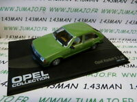 OPE57 voiture 1/43 IXO eagle moss OPEL collection n°60 : KADETT D 1.6S 1979/1984