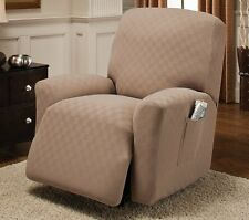 Recliner Fitting Stretch Slipcover Cover Sofa Furniture Armchair Seat Home Decor