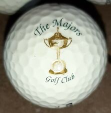 The Majors Golf Club Logo'd Golf Ball