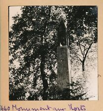 UZA c. 1935 - 3 Photos Monument aux Morts Le Lac Landes - Pl 670
