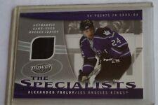 2006-07 Upper Deck Power Play Kings Hockey Card S-AF Alexander Frolov PATCH RARE