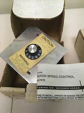 2 Dayton Motor Speed Control Module 4X797B new old stock in boxes