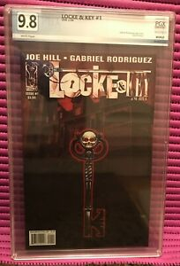 LOCKE and KEY #1 PGX 9.8 WHITE PAGES 1st Print, IDW 2008, NETFLIX Hit Show!
