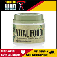 ATP SCIENCE VITAL FOOD 60 CAPS 30 SERVES PHYTONUTRIENTS SUPERFOODS VEGAN NO GMO
