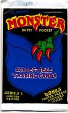 Monster in my Pocket Trading Card Pack