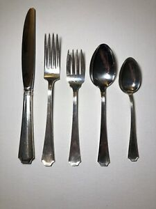 Fairfax Gorham Sterling Silver Estate 5 Piece Place Set -Multiple Sets Available