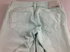 Big Star Remy Jeans Pants Womens 28 Mint Green Skinny Low Rise 31 x 30 Actual