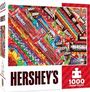 Hershey's Sweet Tooth Fix 1000-Piece Jigsaw Puzzle