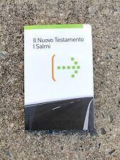Italian Language New Testament Psalms, Larger Print, La Sacra Bibbia New Revised