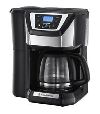 Russell Hobbs Chester Grind&Brew Digitale Glas-Kaffeemaschine Mahlwerk E3520