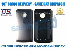 New MOTOROLA MOTO G5 XT1672 XT1676 XT1675 Back Battery Door Cover Case Black