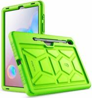 Galaxy Tab S6 10.5 inch Tablet Case Poetic Soft Silicone Protective Cover Green