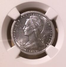 French Equatorial Africa 1948 Franc NGC MS 62