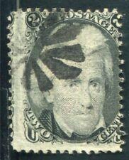 USA 1861 Scott 85B gestempeltWAFFEL 11x14mm SELTEN (Z3250