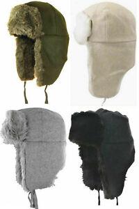 KANGOL Hat Ushanka Wool Trapper Style K0102FA Winter Cap Sizes: S & L