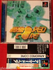 ARMORED CORE PLAYSTATION 1 ARMORED CORE PS1 PSONE JAP