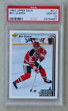 PSA 10 GEM MINT BILL GUERIN Rc 1992-93 Upper Deck #411 New Jersey Devils