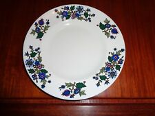 Midwinter Staffordshire ALPINE BLUE By Jessie Tait Salad Or Breakfast Plate