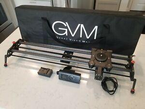 "GVM Professional Motorized 32"" Carbon Fiber CAMERA Slider"