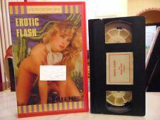 EROTIC FLASH ( M. POZZI - MARINA HEDMAN )# RARA VHS - VIDEO EUROPA #