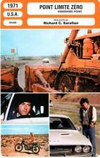 FICHE CINEMA : POINT LIMITE ZERO - Newman,Little,Sarafian 1971 Vanishing Point