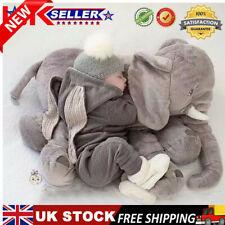 "23.6"" Large Big Soft Pillow Plush Stuffed Elephant Animal Doll Toy Baby Kid Gift"