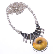 Shiva Eye Gemstone 925 Sterling Silver Handmade Necklace Jewelry 18 1311