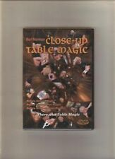 Normans Close Up Table Magic - Dvd