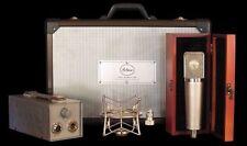 New Peluso P-67 Vacuum Tube Microphone System Mic w/PSU, Case, Shockmount