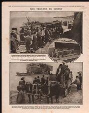 WWI Poilus Corps Expéditionnaire d'Orient/Region Mametz Somme 1916 ILLUSTRATION
