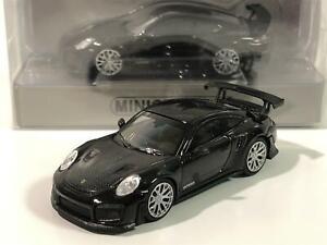 Minichamps 870068125 Porsche 911 GT2 Rs 2018 Noir Carbone Capot 1:87 Echelle