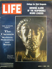 LIFE June 3 1966 Roman emperors, Parsons College, GENERAL KY 1960s Black leaders