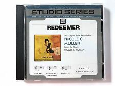 Studio Series - Nicole C. Mullen - Redeemer - accompaniment track christian cd