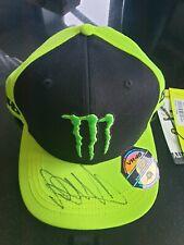 Valentino ROSSIHAND SIGNED Snapback CAP,MOTOGPMonster YAMAHA2020