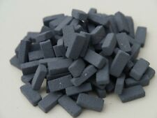 100 1 12th Scale Miniature Dolls House Briquette Bricks