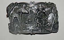 1981 SISKIYOU ARROYO GRANDE STRIKING IT RICH PEWTER BELT BUCKLE B-10