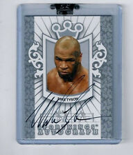2009 SPORTKINGS MIKE TYSON SILVER AUTOGRAPH #MT2! ONLY 40 MADE!