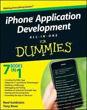 iPhone Application Development All-in-One for Dummies, pristine, FREE SHIPPING