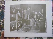 1900 Zeitungsdruck 3 / Berlin Maler Julius Kraut / Theater Secessionsbühne