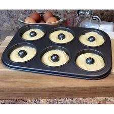 Evelots Mini 6-Cavity Donut & Bagel Baking Pan,Non-Stick Healthy Homemade