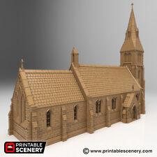 Medieval Church 28mm Tabletop Games Dwarven Forge D&D Terrain Wargaming