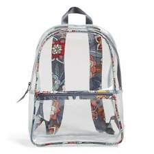 Vera Bradley Tropical Evening Essential Factory style Clear backpack NEW in Bag