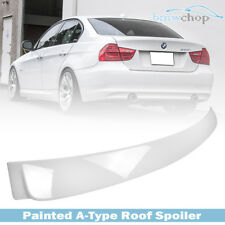 For BMW E90 3-Series A Look Roof Spoiler 2011 Painted Color #300 Sedan 328i