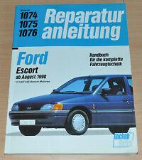 FORD Escort 1,1 1,4 1,6 E Benzin-Motor ab August 1990 Reparaturanleitung B1074