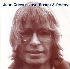 JOHN DENVER Love Songs & Poetry CD