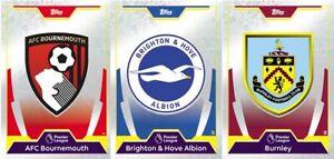 Match Attax 2017/18 - Bournemouth - Brighton - Burnley - Choose - Buy 1, 4 Free!