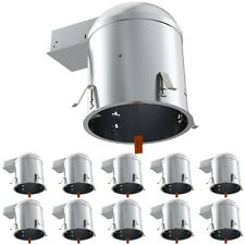 Sunco 10 Pack 6 Inch Remodel Can Air Tight Ic Ul Housing Recessed Led Lighting