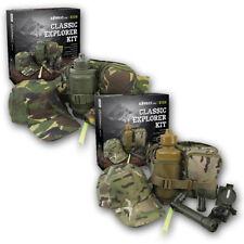 Infantil clásico Exploradora Kit Set dpm camuflaje BTP Ejército Militar