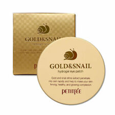 [Petitfee] Gold & Snail Hydrogel Eye Patch (60 Sheets)