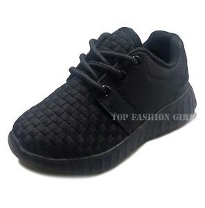 New Baby Boys Girls Toddler Mesh Sneaker Sporty Lace Up Tennis Shoe Size 4 to 9
